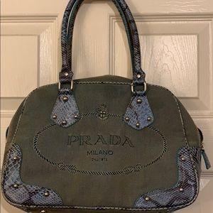 a0480a5e12ab Women Prada Denim Bag on Poshmark